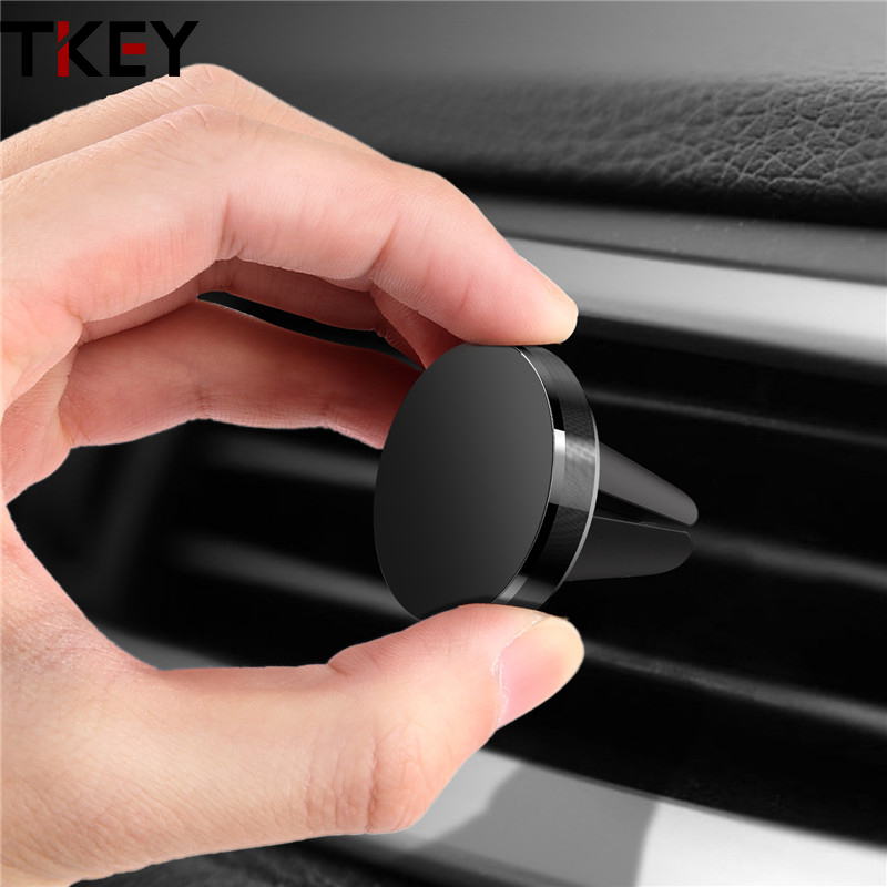 Metal Magnetic Car Phone Holder Stand For Xiaomi Mi 10 Pro Redmi Note 8  Mini Metal Air Vent Clip Mount Magnet Holder For Iphone