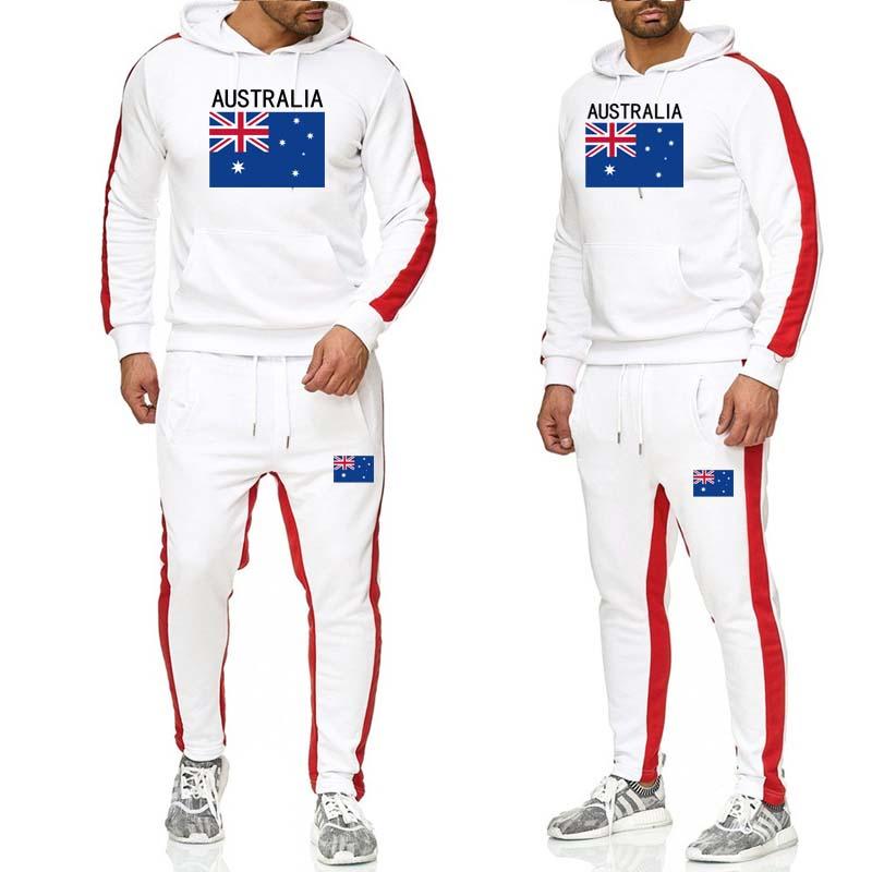 New 2019 Fashion Men's Fashion Autumn And Winter Hoodies Men's Sports And Leisure Suit Men's Jogging Suit
