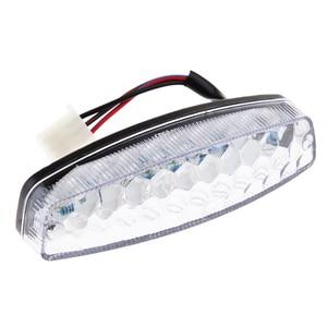 Image 2 - Luces LED de freno traseras universales, luz trasera de señal de giro para motocicleta Yamaha Suzuki Honda ATV Quad Kart, 1 Uds.