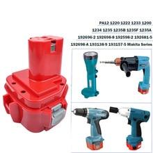 Bonacell 9.6V 2.5Ah Power Tools Battery for Makita 9120 9122 9133 9134 9135 9135A 6222D 6260D L10 193977-7 638344-4-2 9120 9122
