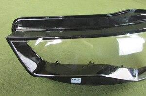 Image 3 - ヘッドライト透明カバーランプシェードヘッドランプシェルレンズヘッドライトガラスランプシェルガラスアウディ A6L C7 2016 2017 2018