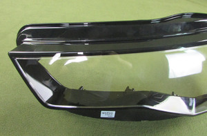 Image 3 - Headlight Transparent Cover Lampshade Headlamp Shell Lens Headlight Glass Lamp Shell Glass For Audi A6L C7 2016 2017 2018