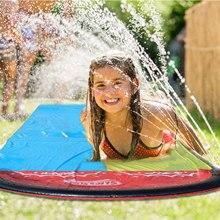 Toy Slide Lawn Swimming-Pool Inflatable Water-Splash Backyard Children Summer Sprinkler