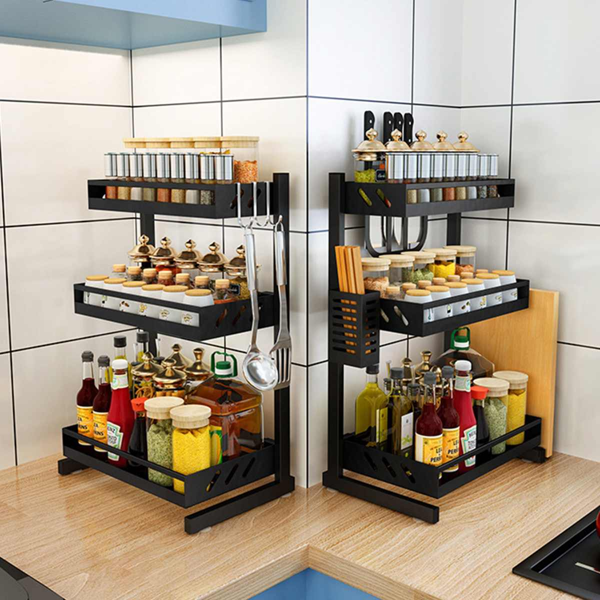 Shelf Organizer Bowl Dishes Storage-Counter Drying-Rack Over-Sink-Dish Kitchen Drainer title=