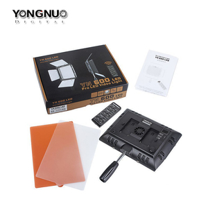 Image 5 - Yongnuo YN600L YN600 L LED Video Light 3200K 5500K with AC Adapter Set Support Remote Control by Phone App for Interview