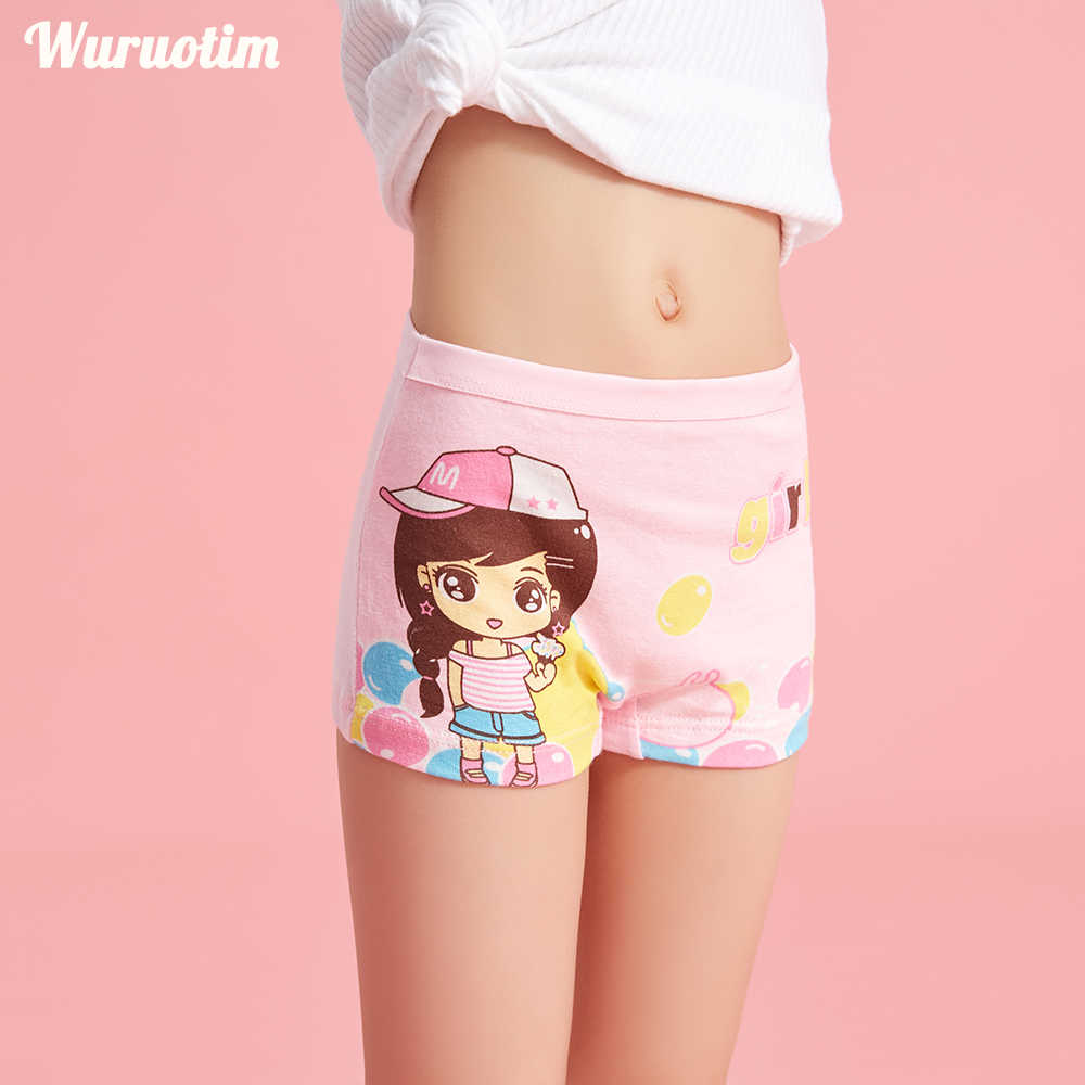 3-12 Briefs Fashion Cute Toddler Kid Girl Lovely Cartoon Underpant Floral Lot