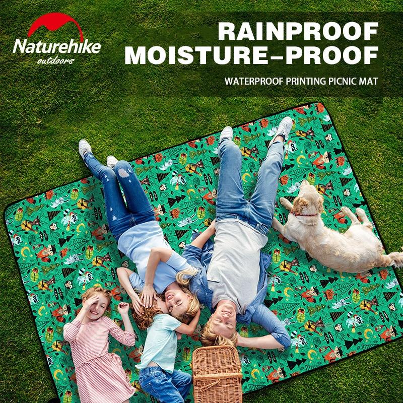 naturehike esteira de acampamento ao ar livre ultraleve ultra sonica piquenique almofada a prova dwaterproof agua