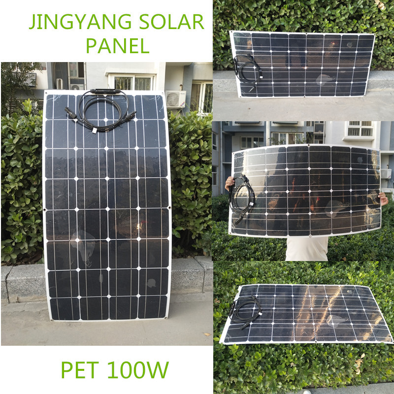 Wholesale High Quality 100w flexible solar panel battery charger Made in China|Solar Cells| |  - title=