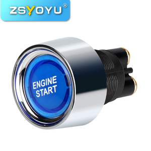 12V Auto Car One Start Stop Button Engine Push Button Ignition Switch start stop engine system keyless Entry Starter System