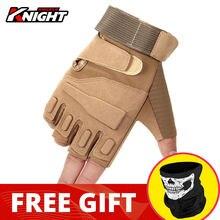 Gants de Moto pour hommes, équipement de protection pour faire de la randonnée, pour Motocross, avec la moitié des doigts