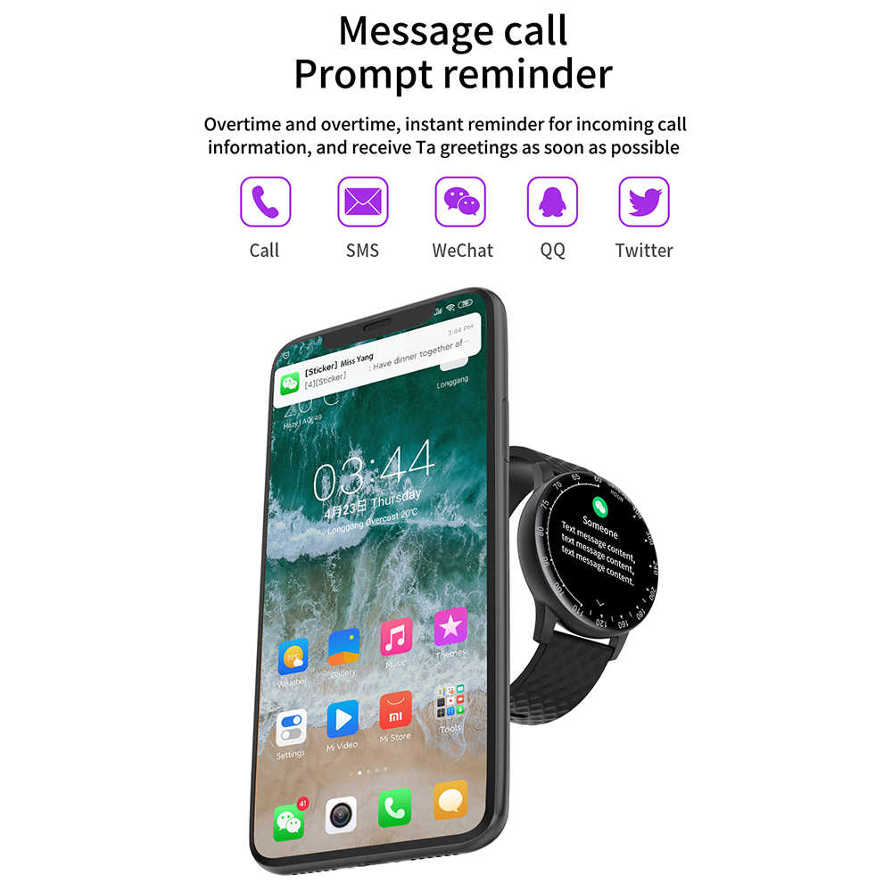 LEMFO H30 Astuto Della Vigilanza 2020 Per Gli Uomini DIY del Fronte Della Vigilanza IP68 Impermeabile Monitor di Frequenza Cardiaca Braccialetto Per Android Iphone Smartwatch