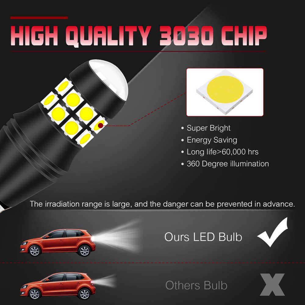 Bombillas LED Canbus 2 uds W16W T15 921 912 para Ford Focus 2 3 Fusion Flex Fiesta Escape c-max Edge F-150 luces de marcha atrás para coche