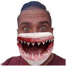 Drukowanie usta maska zmywalny odkryty wiatroszczelna pyłoszczelna Anti-fog śmieszne maski na twarz ochronne oddychające maski mascarillas #3 tanie tanio ISHOWTIENDA NONE Chin kontynentalnych face mask