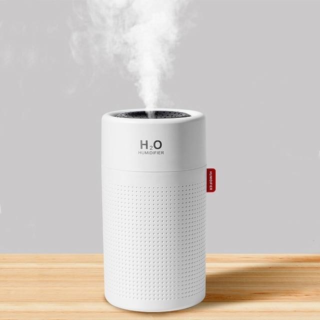 Umidificador de ar sem fio, umidificador de ar, difusor de aroma portátil usb, recarregável, óleo essencial, 2000mah
