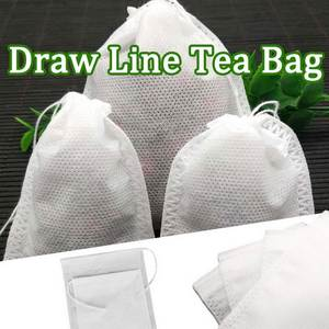 Bolsas SEAL-FILTER-PAPER Tea-Bags String Herb Empty Heal with for Loose De-Te -G Scented