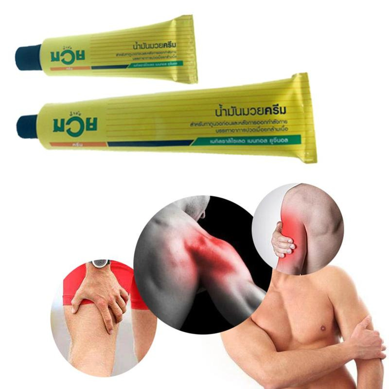 1pc 30g Active Pain Relief Ointment Analgesic Cream Muscle Pain Relief Sports Joint Shoulder Pain Analgesic Balm Massage Cream
