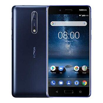 Перейти на Алиэкспресс и купить Новый оригинальный ЕС версия Nokia 8 Ta-1012 мобильный телефон 4 ГБ ОЗУ 64 Гб ПЗУ 5,3 дюймSnapdragon 835 двойная 13 МП камера NFC один SIM телефон