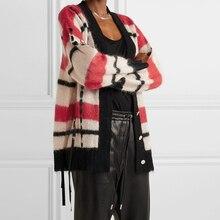 V Cardigans Striped Coat