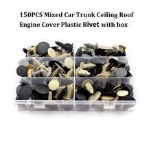 Mixed Auto Trunk roof hood cover plastic fastener rivet clips set for Toyota Honda Nissan Mazda Mitsubishi Lexus SUBARU