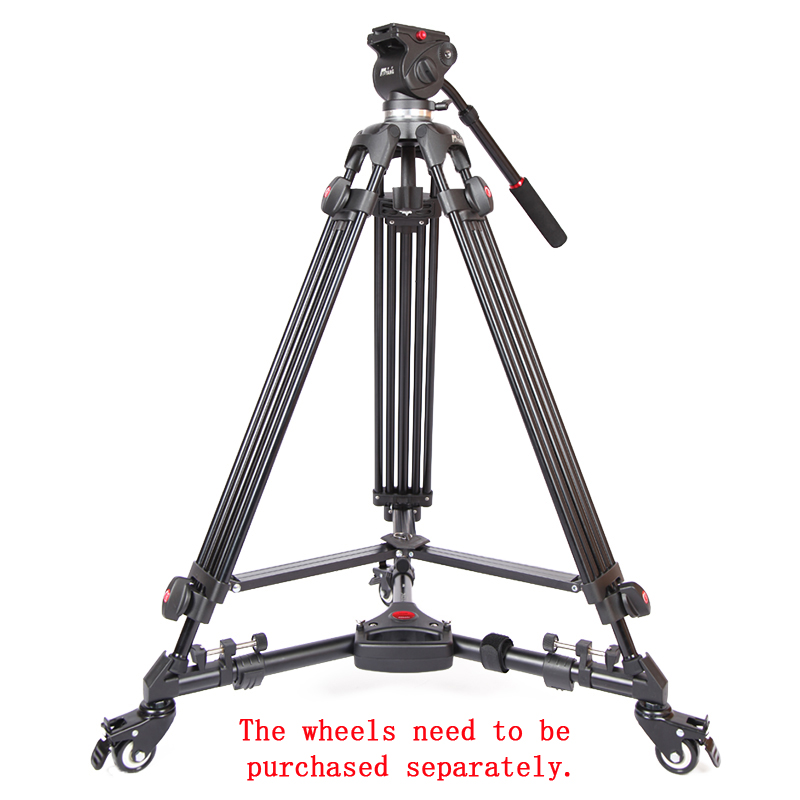 JIEYANG JY0508 JY-0508 JY0508B Professional Tripod camera tripod/Video Tripod/Dslr VIDEO Tripod Fluid Head Damping for video