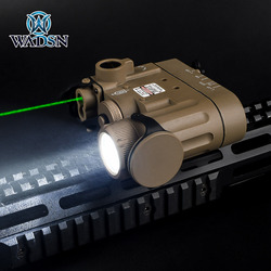 WADSN Tactical DBAL-D2 Green IR Laser Sight Hunting dbal d2 Laser Flashlight IR filter with Tape Switch for Picatinny Rail