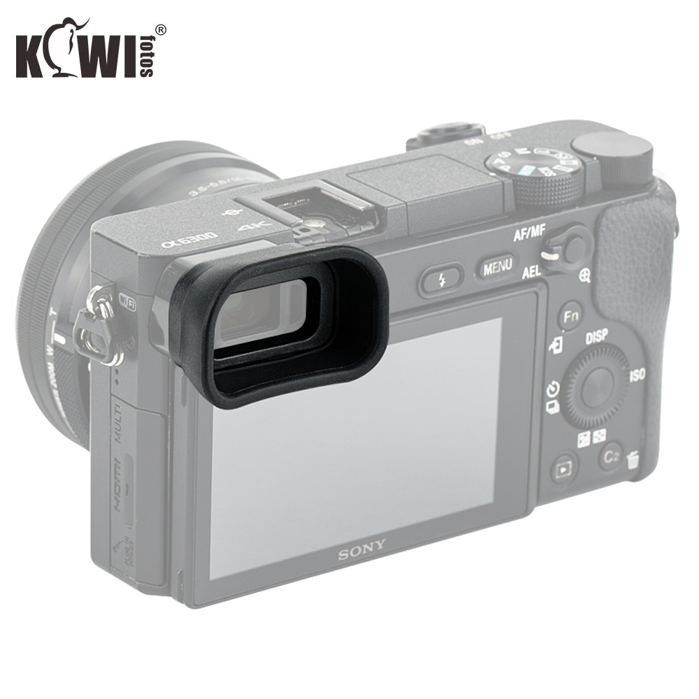 Upgrade Eye Cup Soft Camera Viewfinder Eyepiece Long <font><b>Eyecup</b></font> For <font><b>Sony</b></font> A6100 A6300 <font><b>A6000</b></font> Replaces <font><b>Sony</b></font> FDA-EP10 Cameras Eyeshade image