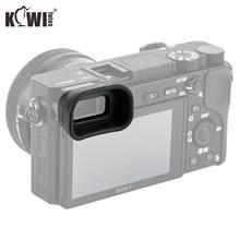 Upgrade Eye Cup miękki aparat wizjer okular długi Eyecup dla Sony A6100 A6300 A6000 zastępuje Sony FDA EP10 kamery Eyeshade