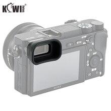 Yükseltme göz farı yumuşak kamera vizör mercek uzun vizör Sony A6100 A6300 A6000 değiştirir Sony FDA EP10 kameralar siperliği