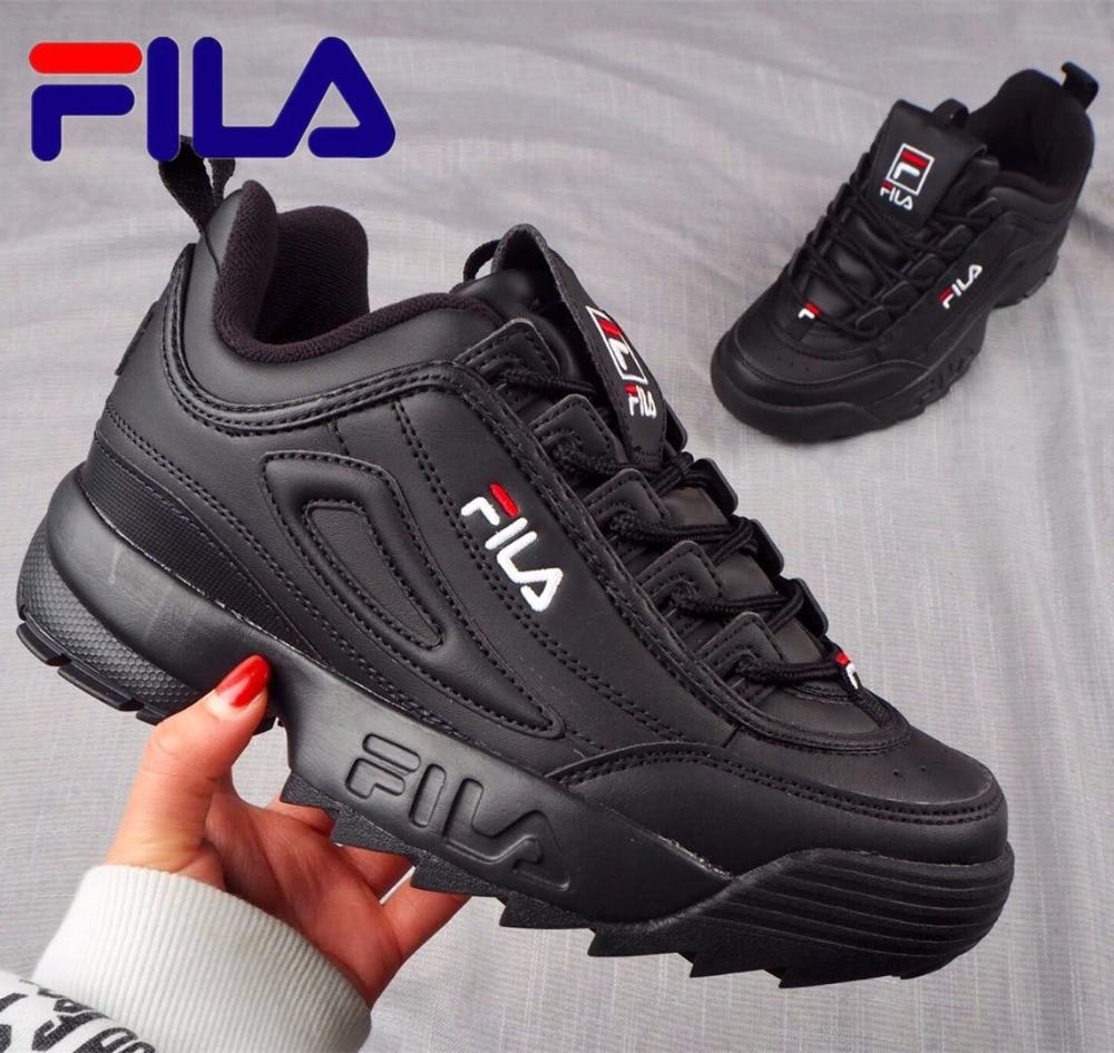 Fila Disruptor II 2 Women Sneaker Running Shoes White brown