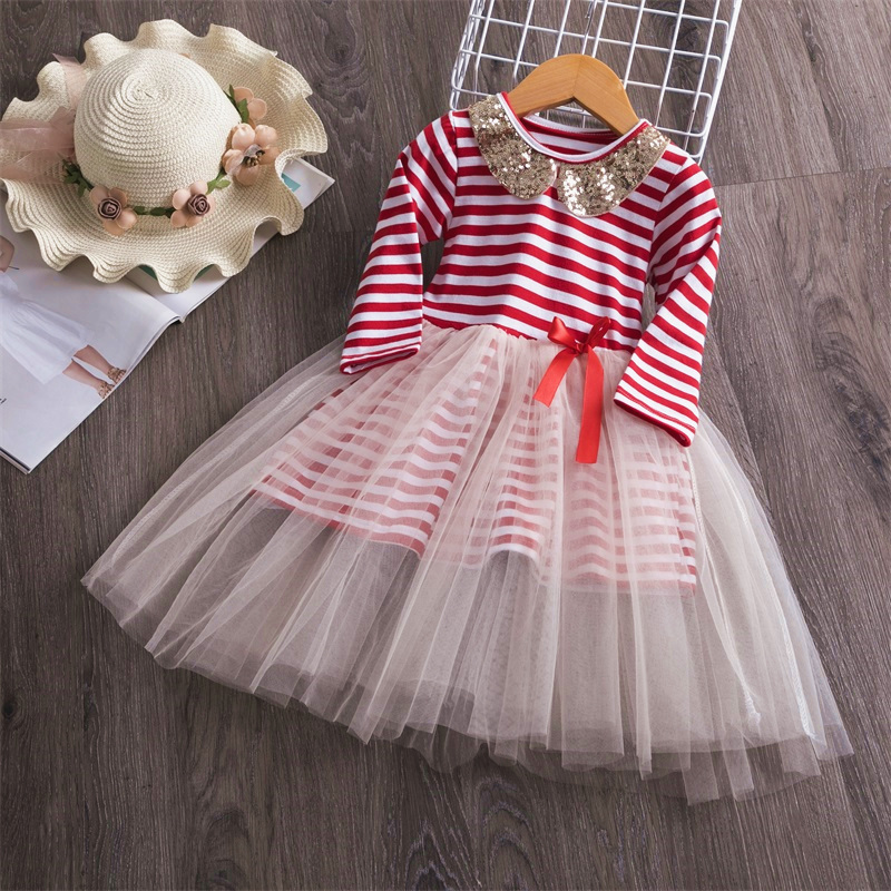 H45cd7ca243fd43868f4aab15d9fea2eec Kids Dresses For Girls Long Sleeve Deer Snowflake Print Dress New Year Costume Princess Dress Kids Christmas Clothes Vestidos