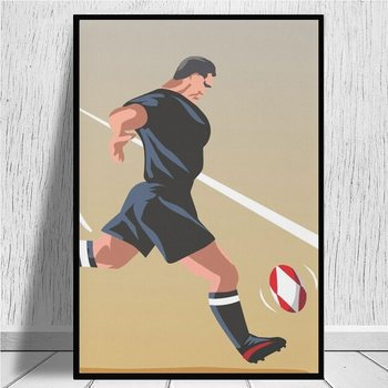 Kickoff Rugby New Zealand canvas prints Canvas Art Painting Wall Art Poster Living Room Home Decor Painting Hotel Apartment image