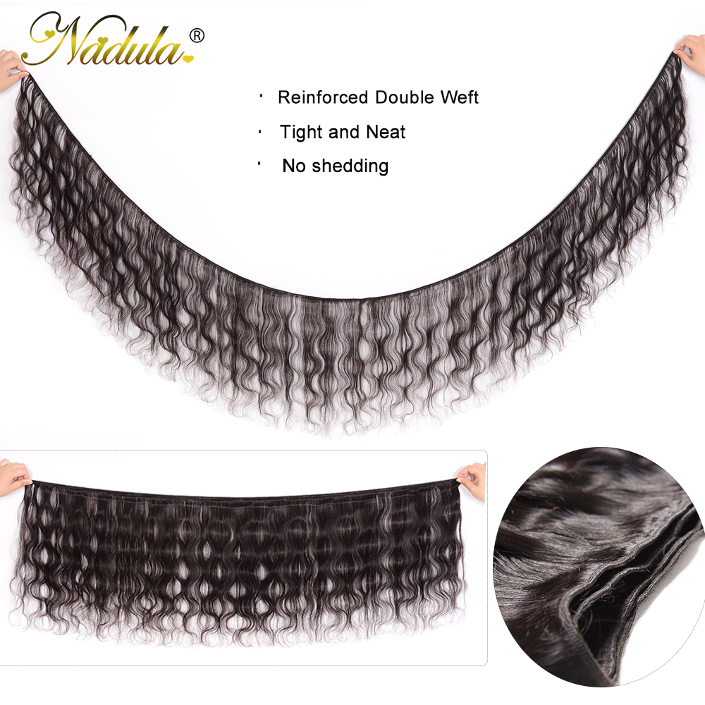 Nadula Hair Malaysian Body Wave Hair 3piece/Lot Human Hair Bundles 8-30inch Remy Hair Weaves Free Shipping