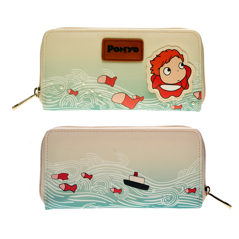 Fashionable And Lovely Printing Female Wallet Ponyo Women Purse