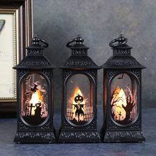Decorações de halloween luz da noite led halloween vento lanterna ornamentos noite luz led halloween vento ornamentos #40