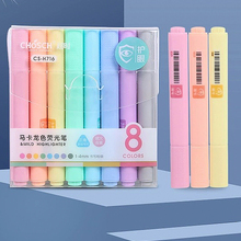 Candy-Color Pencil Highlighter Drawing-Marker Fluorescent-Pen Macaron-Series Creative