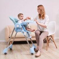 Baby essen sitze esstisch Multi-funktion verstellbare falten kinder stühle Russland kostenloser versand baby sitz hohe stuhl