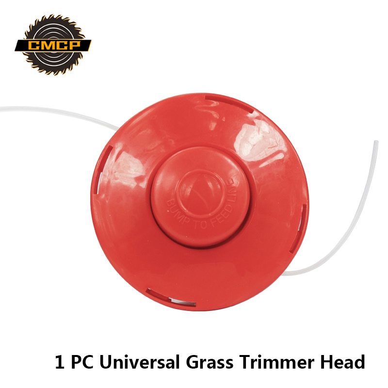 1pc Red Grass Trimmer Head Universal Lawn Mower Trimmer Head Brush Cutter Head Garden Tools