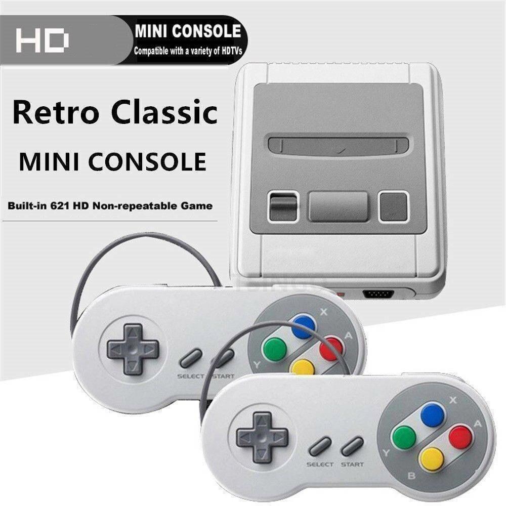 Игровая приставка Mini HD TV, 8-битная ретро-консоль для видеоигр, встроенные 621 игры AV Outpu, классическое детство, ручной игровой плеер