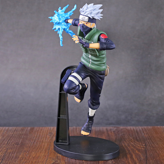 Naruto Shippuden Vibration Stars Hatake Kakashi Lightning Cutter Ver. Figura de PVC, figura coleccionable, modelo de juguete