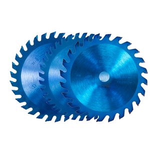 Image 2 - Xcan 1Pc 85x1 0/15Mm 24/30/36 Tanden Tct Hout Cirkelzaagblad Nano Blauwe Coating snijden Disc Hardmetalen Zaagblad