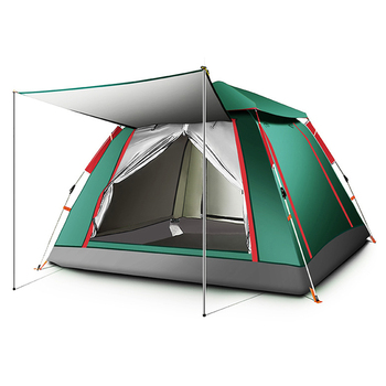 3-4 Person Automatic Tents Waterproof Camping Hiking Tent Outdoor Large Family Tent Portable Anti-UV Multi-purpose Tent KEOGHS