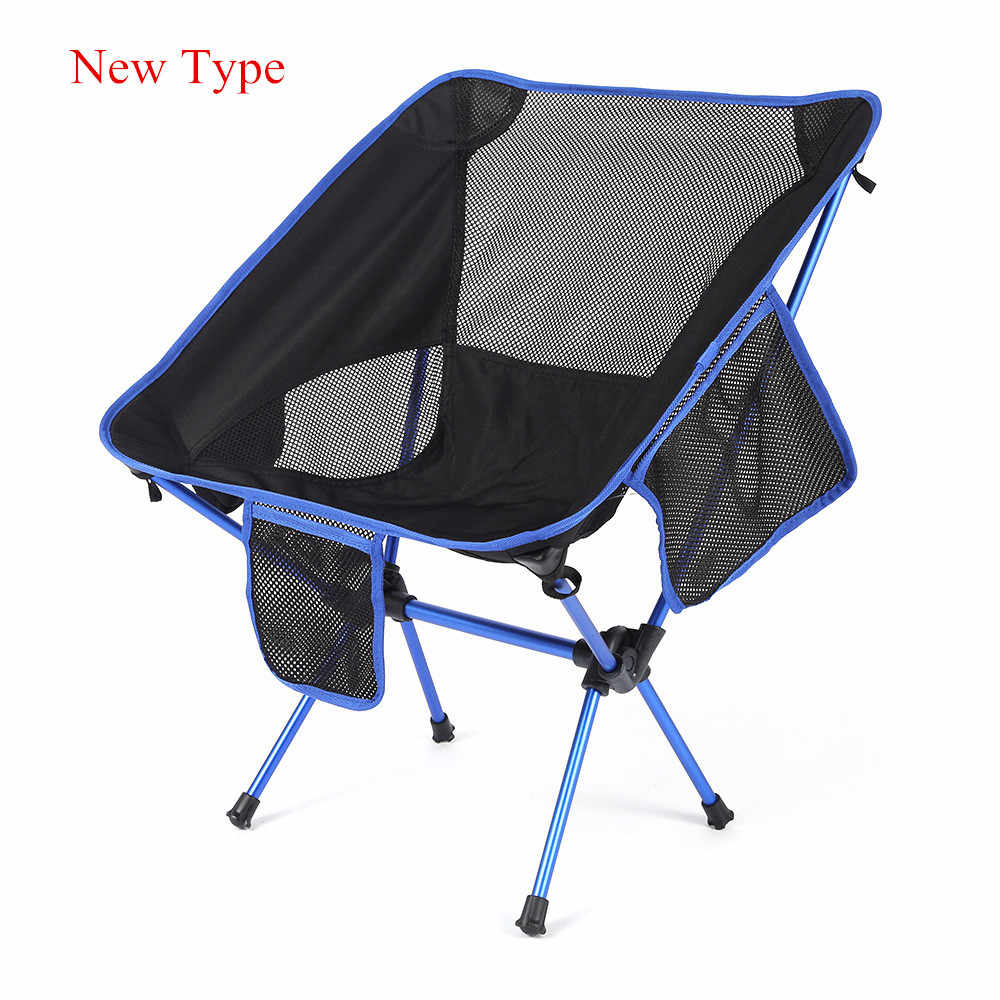 Outlife Ultra Light Folding Fishing Chair Seat For Outdoor Camping