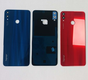 """Image 2 - Original New For 6.5""""Huawei Honor 8X 3D Glass Back Battery Cover Housing+Glass Lens+Camera Frame+Sticker JSN L2, JSN L42 JSN"""