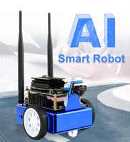 Waveshare JetBot AI Kit Smart Roboter Basierend auf Jetson Nano NVIDIA Offizielle Empfehlung Wireless Gamepad control