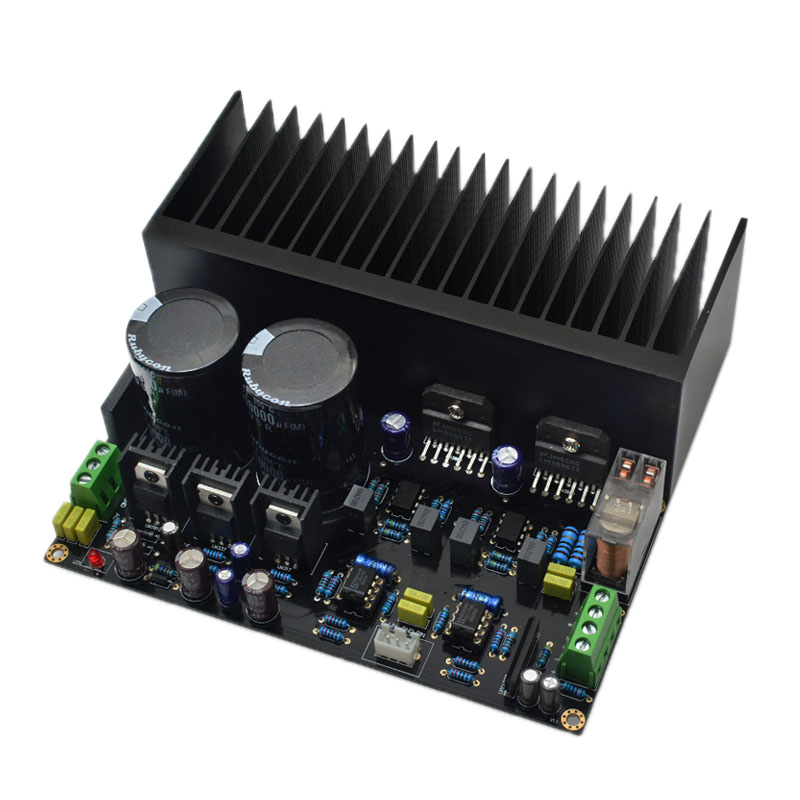Lm3886 Stereo High Power Amplifier Board Op07 Dc Servo 5534 Independent Operational Amplifier Shen Jin Pcb Kit|Speaker Accessories| |  - title=