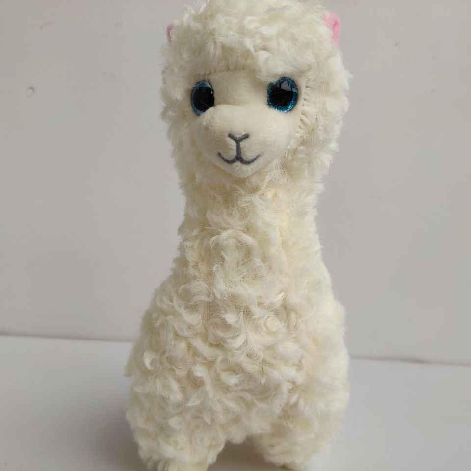 Lily lana lola alpaca gabby cabra ovelha dixie cordeiro narciso grandes olhos brinquedos de pelúcia presente de natal crianças brinquedos macios presente nano bonecas