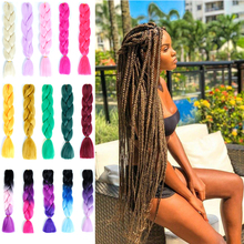 Большой Синтетический Шнур для волос 88 цветов Доступно 24 дюйма крючком светлые волосы для женщин прически синтетические плетеные волосы