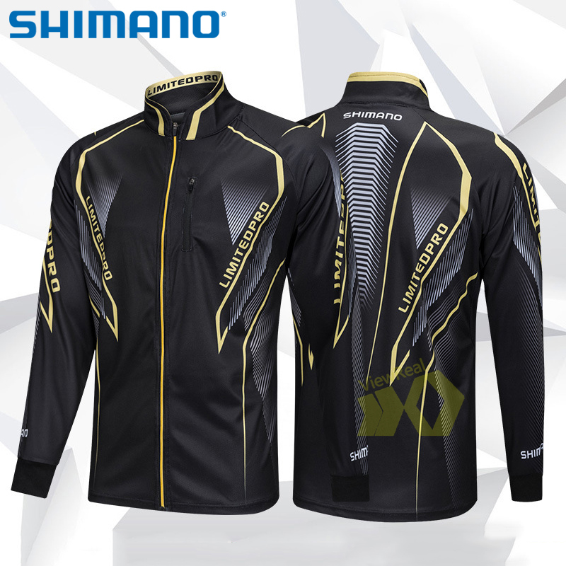Breathable Fishing Shirt Long Sleeve Fishing Jacket Men Sport Riding Anti-UV Quick Dry Fishing Clothing Men Fishing Clothes