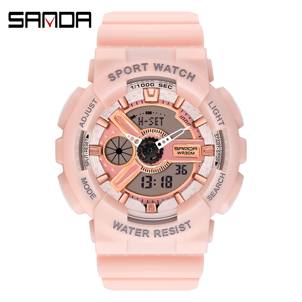 2020 SANDA Military Men's Watch Top Brand Luxury Waterproof Sport Wristwatch Fashion Quartz Clock Couple Watch relogio masculino 7