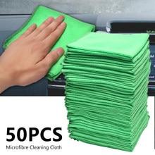 Car Wash Microfiber Towel Car Cleaning Drying Cloth Hemming Wash Towel Car wash supplies 30x30cm